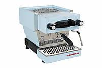 La Marzocco Linea Mini EE 1 group, Профессиональная кофемашина эспрессо для кофейни (светло-голубой корпус)