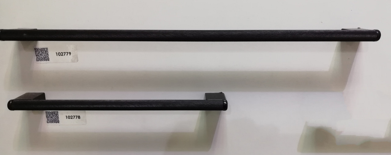Ручка меблева релінгова Virno Lines 407 чорна