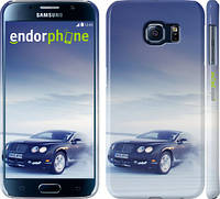 "Чехол на Samsung Galaxy S6 G920 На Bentley по снегу ""127c-80"""