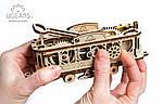 Трамвайная Линия | UGEARS | Механический 3D конструктор из дерева, фото 2