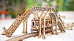 Трамвайная Линия | UGEARS | Механический 3D конструктор из дерева, фото 5
