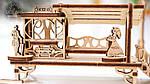 Трамвайная Линия | UGEARS | Механический 3D конструктор из дерева, фото 6