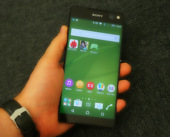 Новые смартфоны Sony Xperia C5 Ultra и Xperia M5 New Sony Xperia smartphones C5 Ultra and Xperia M5