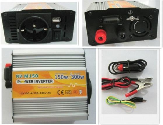 Инвертор NV-M 150Вт/12В-220В, фото 2