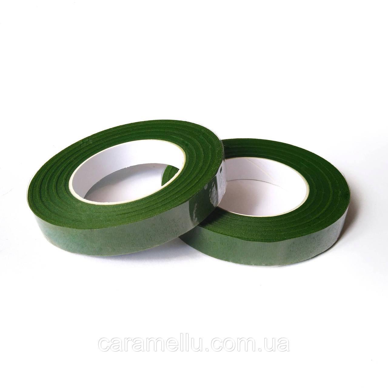 Тейп-лента зеленая. 27м