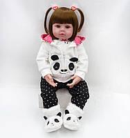 Кукла реборн ViPro реалистичная девочка 48 см виниловая