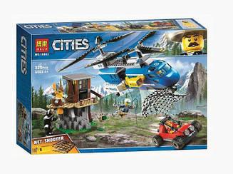 """Конструктор City 10863 Сити """"Погоня в горах"""", 325 дет."""