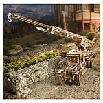 Пожарная Машина   UGEARS   Механический 3D конструктор из дерева, фото 6