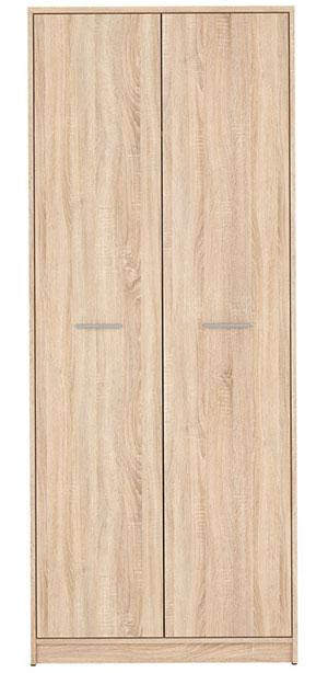 Шкаф для вещей Непо SZF_2D дуб сонома