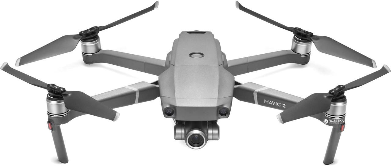 Квадрокоптер DJI Mavic 2 Zoom Дрон безпілотник складаний, дальність польоту 6000 метрів, час польоту 30 хвилин