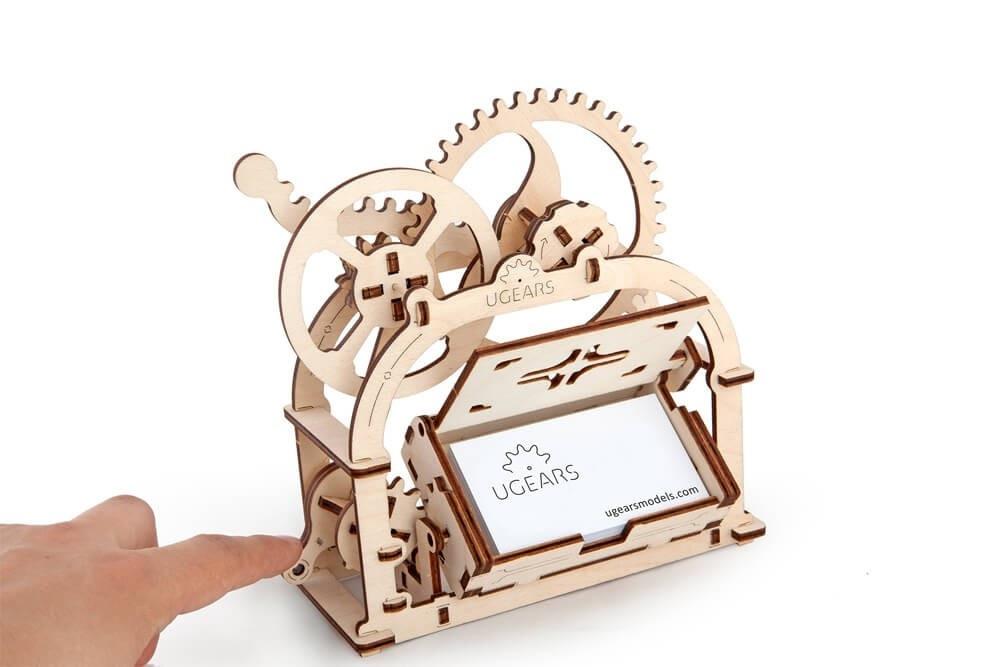 Механическая Шкатулка | UGEARS | Механический 3D конструктор из дерева