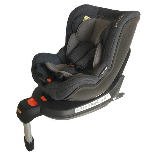 Автокрісло Welldon Safe Rotate FIX (графітовий/сірий) IG03-S95-001