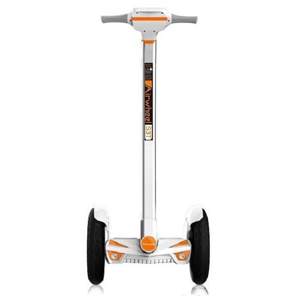 Гироборд-максі AIRWHEEL S3T+ 520WH (білий/помаранчевий) (6925611220620)