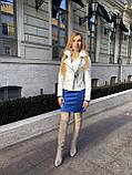 Белая кожаная куртка Турция, фото 10