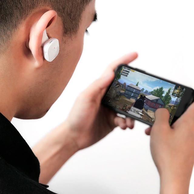 Беспроводные Bluetooth наушники Baseus Encok W02 со встроенным микрофоном NGW02-01 NGW02-02 Черные Белые