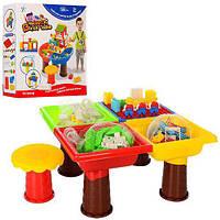 Игровой столик с конструктором (КРУГЛЫЕ) арт. 8805-8806