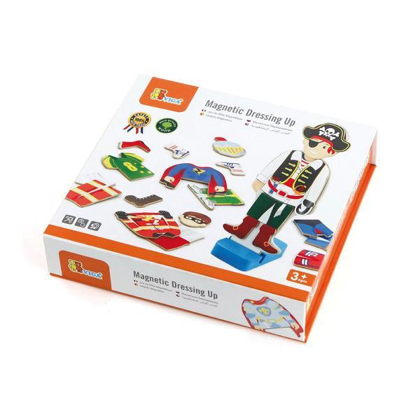 Набір магнітів Viga Toys Гардероб хлопчика (50021VG)