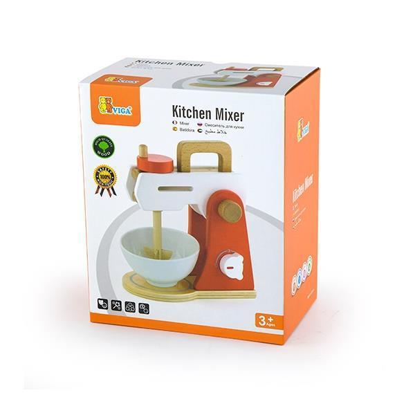 Іграшковий міксер Viga Toys з дерева (50235)