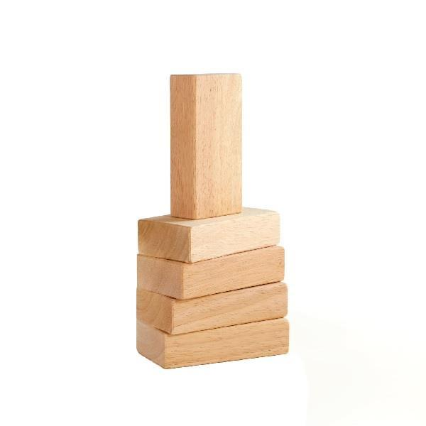 Набір дерев'яних брусків Guidecraft Block Mates, 5 шт. (G7600)