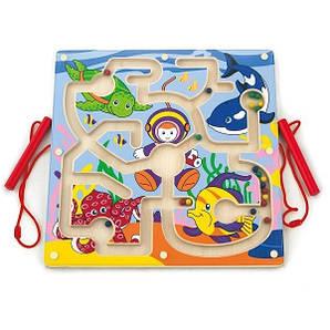 Магнітний лабіринт Viga Toys Підводний світ (50123)
