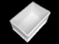 Ящик-контейнер 600*400*300 белый, фото 1