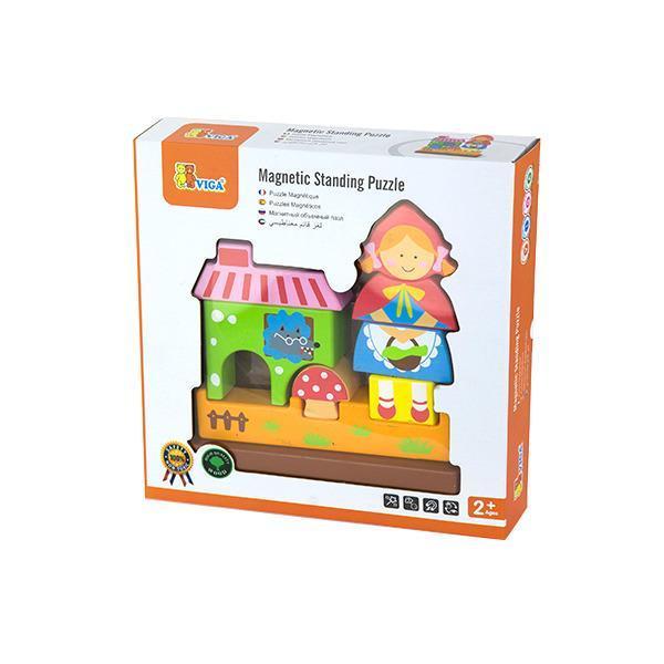 Магнітна дерев'яна іграшка Viga Toys Червона Шапочка (50075)