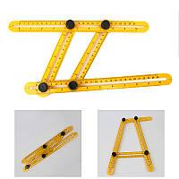 Линейка мультифункциональная строительная Multifunctional Folding Ruler Angler 149531