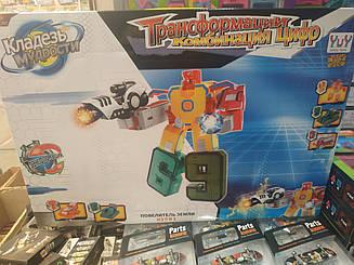 Большие Трансботы - трансформация в одного большого робота