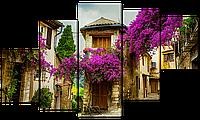 Модульная картина Interno Пейзаж в стиле прованс 108х60см (R4529S)