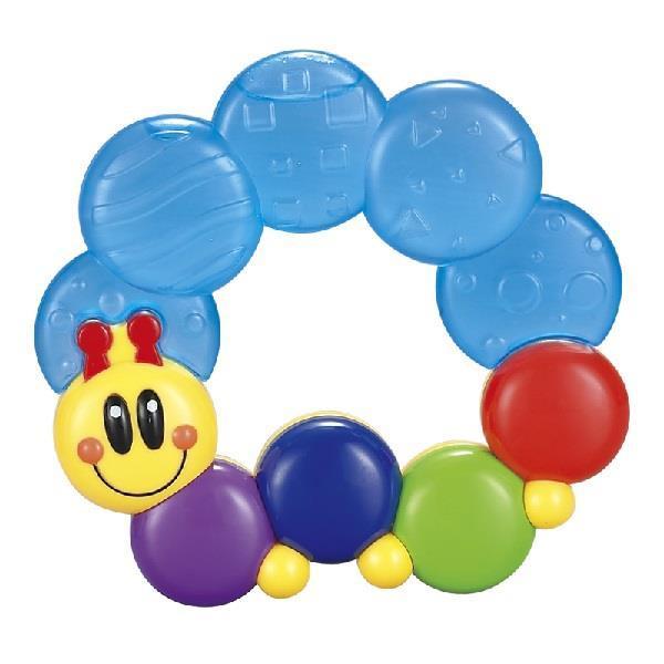 Прорізувач для зубів Hola Toys Весела гусінь (306D)