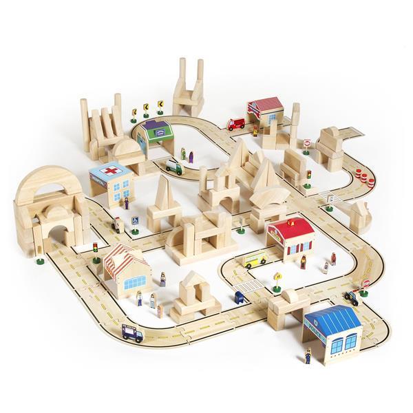 Іграшка Guidecraft Block Play Дорожня система, 42 деталі (G6713)