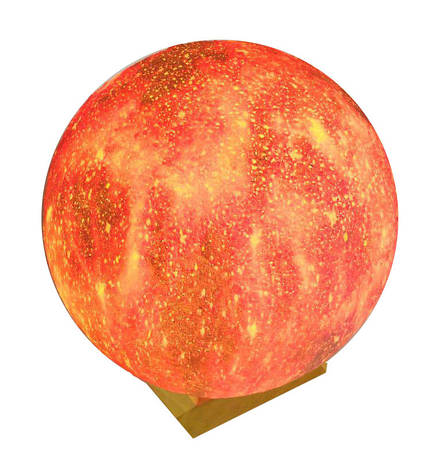 Настільний світильник Magic 3D Moon Light, фото 2