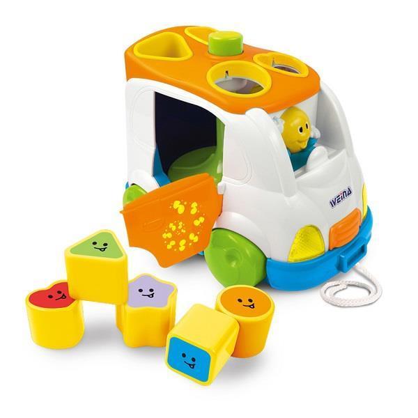Іграшка сортер Weina «Музичний мікроавтобус» (дві тисячі сімдесят один) (2071)