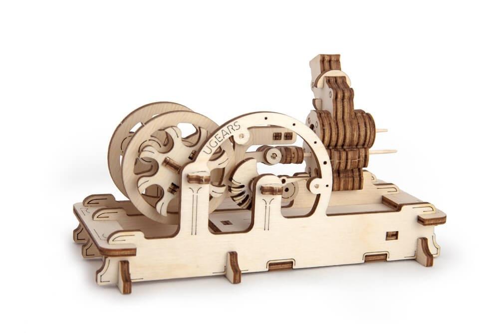 Двигатель   UGEARS   Механический 3D конструктор из дерева