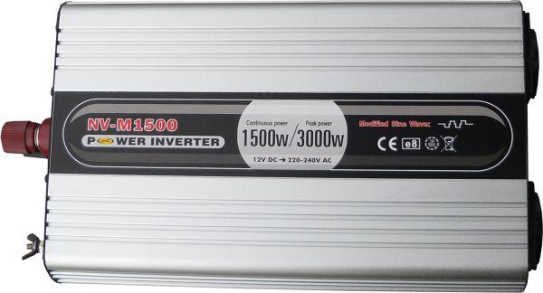 Инвертор NV-M1500Вт/12В-220В
