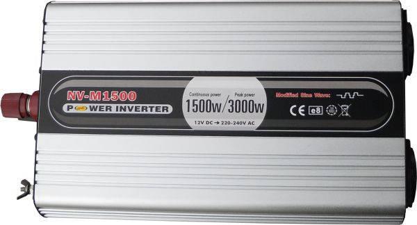 Инвертор NV-M1500Вт/12В-220В, фото 2