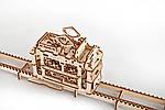 Трамвайчик | UGEARS | Механический 3D конструктор из дерева, фото 2