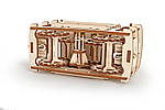 Трамвайчик | UGEARS | Механический 3D конструктор из дерева, фото 3