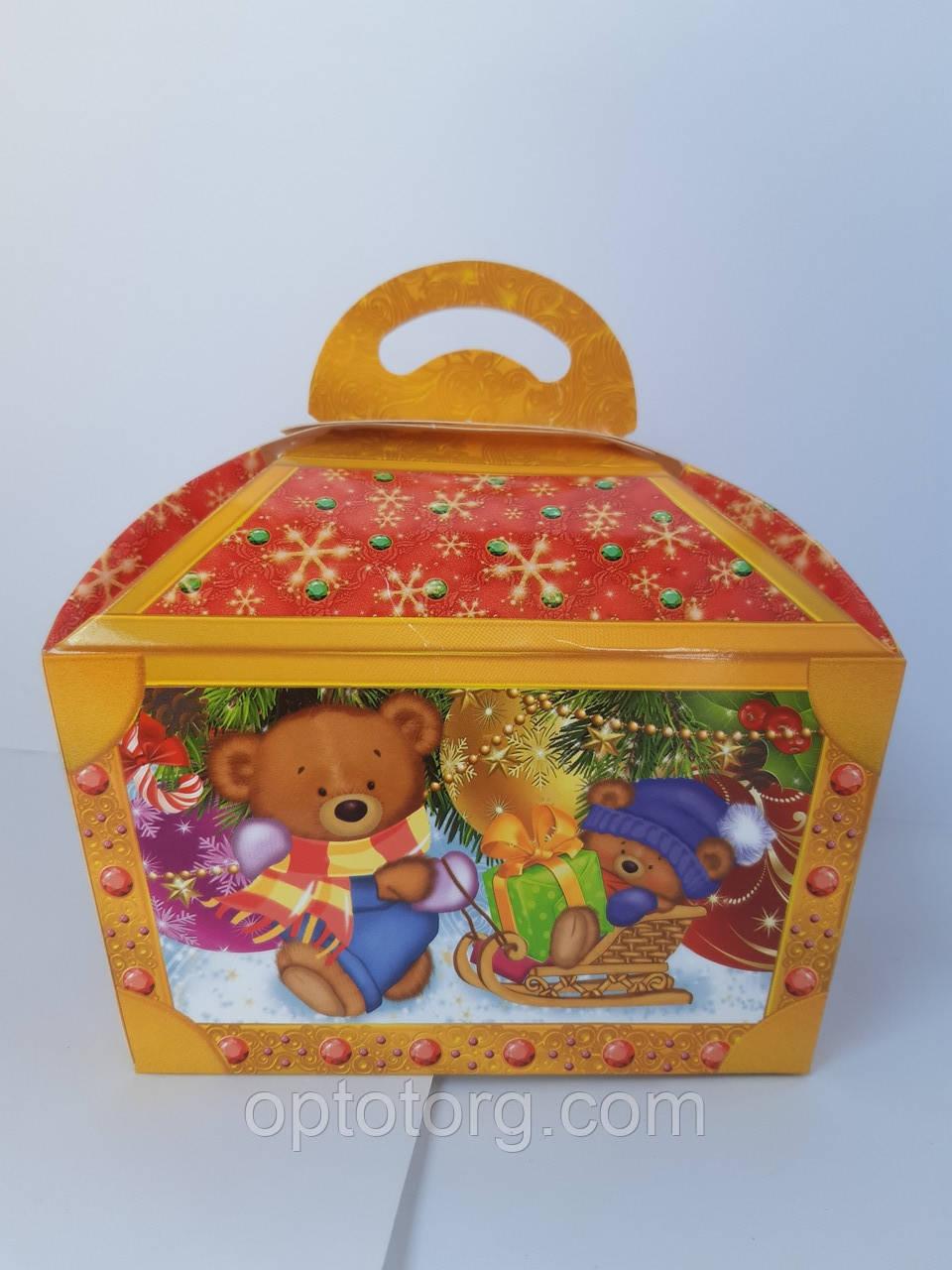 Упаковка для конфет Новый год 500 грамм