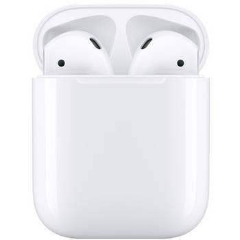 Оригинальные беспроводные наушники с микрофоном  Apple AirPods 2 (MV7N2)