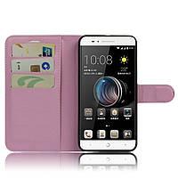Чехол-книжка Litchie Wallet для ZTE Blade A610 Светло-розовый