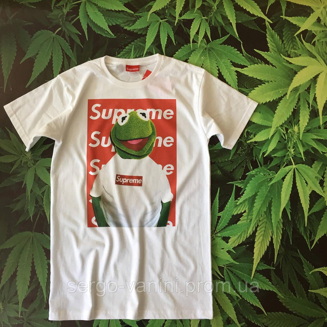 Футболка Supreme Mr. Frog (replica)