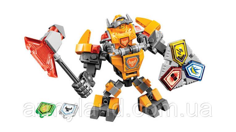 Рыцарь Воин будущего Аналог Лего AXL Nexus, фото 2