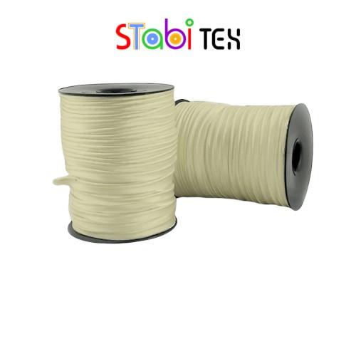 Кант бейка сатин 10мм (100м/боб) Бежевый