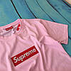Футболочка Supreme Pink (реплика), фото 2