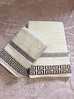 Банное махровое полотенце 140х70 см