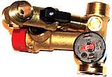 Гидроузел латунный в сборе три запчасти (фир.уп, EU) котлов Ferroli Domicompact, арт.39812130, к.з.0494/4, фото 5