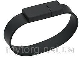 Флешка браслет BiNful 16 GB USB 2.0 силиконовая 16 Gb Черный