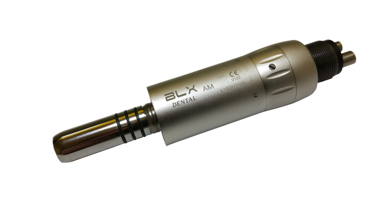 Мікромотор пневматичний BLX dental, внутрішня подача води, M4.