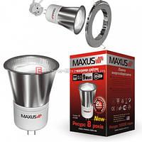 АКЦИЯ ! Энергосберегающая лампа MAXUS 10w  2700k  G5.3